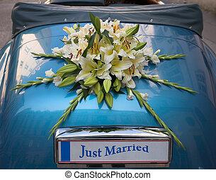 Wedding decoration - Flower bouquet used as a weeding...