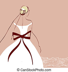 wedding design - it is done in the program illustrator