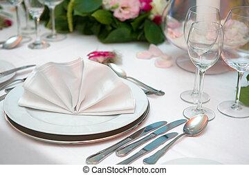 Wedding dinne