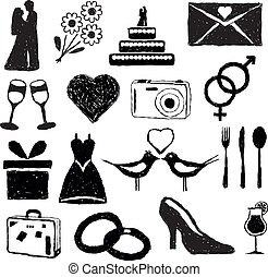 wedding doodle images
