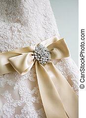 Wedding Dress Bow