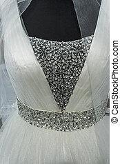 Wedding dress. Detail-3
