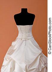 Wedding Dress - beautifully sewn wedding dress