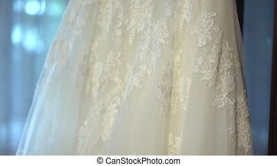 Wedding Dress - Toll white dress of the bride