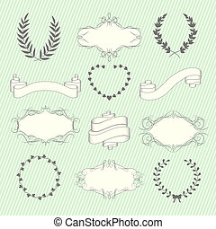 Wedding elements set