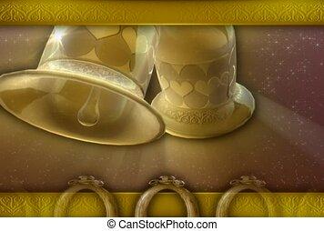 wedding, engagement, wedding bells