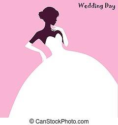 Wedding Fashion, elegant bride