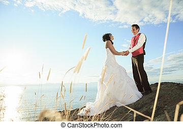 wedding fine art portrait of couple
