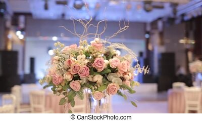 Wedding floral, bouquet of beautiful flowers