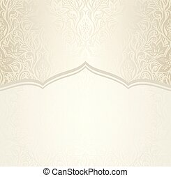 Wedding Floral decorative vintage design copy space