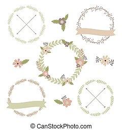 Wedding floral set