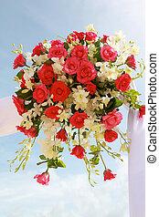 Wedding flowers.
