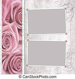 wedding frame for photo