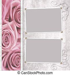 wedding frame for photo