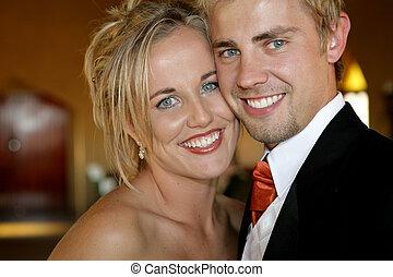 wedding, gesichter