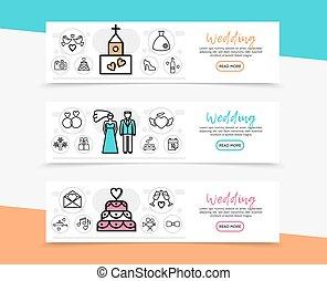 Wedding Horizontal Banners