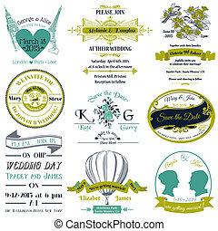 wedding invitation 1 - Wedding Vintage Invitation Collection...