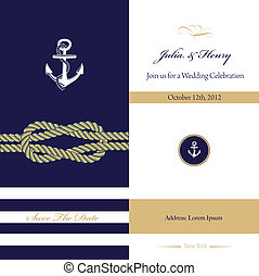 Wedding invitation card - Vector Wedding invitation card...