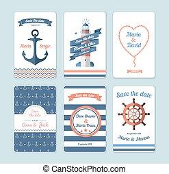 invitation card - Wedding invitation card. Save the date,...