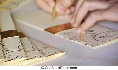 Wedding invitation card. - Wedding, invitation, card,...