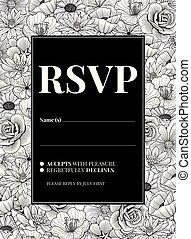Wedding Invitation Design - Wedding invitation greeting Card...