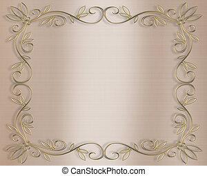 Wedding invitation - Illustration composition for...