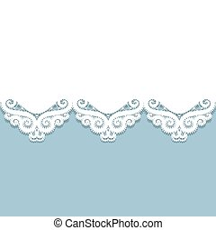 paper lace border