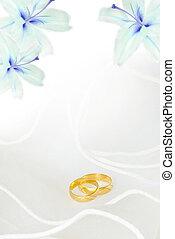 Wedding invitation - wedding invitation or greeting card...