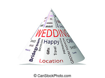 """wedding"", Kegel, 3d - ""wedding"", kegel, 3d"
