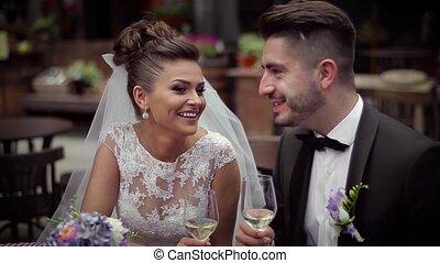 Wedding lovely couple