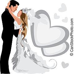wedding., marriage.