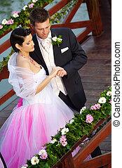wedding:, novia y novio