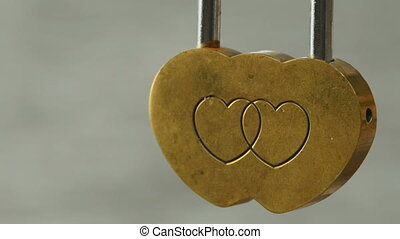 wedding padlock