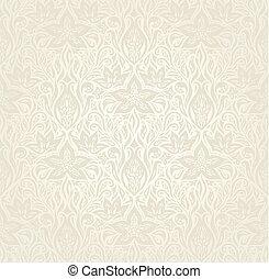 Wedding pale floral pattern wallpaper background design