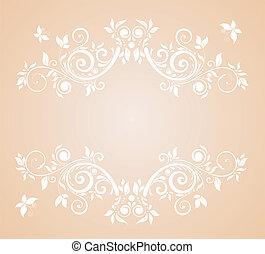 Wedding pastel card