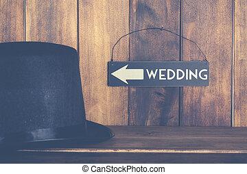 wedding, plakat