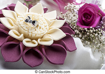 wedding ring and weddings favors