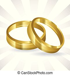 wedding ring icon vector illustration graphic design