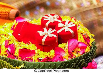 Wedding Ring Red Box