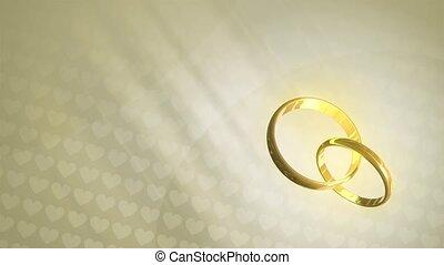 Wedding Rings HD Loop