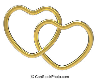 Wedding Rings Indicates Valentine Day And Eternity - Wedding...