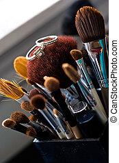 Wedding Rings On Makeup Brushes