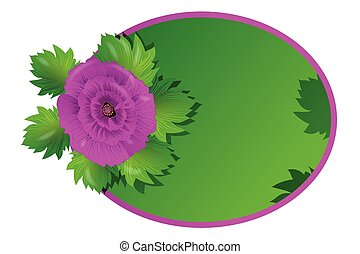 Wedding roses floral invitation greetings card vector