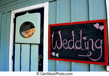 Wedding Sign - Wedding marriage sign in Mill Bay, Northland,...