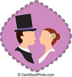 wedding silhouette 2