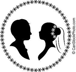 wedding silhouette 3