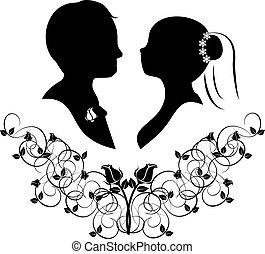 wedding silhouette 4