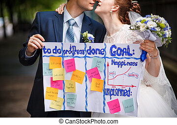 wedding to do list - The wedding ceremony beautiful bride...