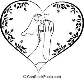 wedding vector 4