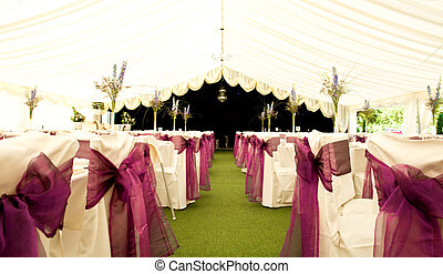 Wedding venue - An empty wedding venue